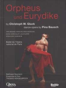 Christoph Willibald Gluck (1714-1787): Orpheus & Eurydike (in dt.Spr./Tanzoper von Pina Bausch), DVD