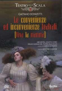 Gaetano Donizetti (1797-1848): Le Convenienze ed Inconvenienze Teatrali, DVD