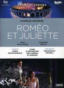 Charles Gounod (1818-1893): Romeo & Juliette, 2 DVDs