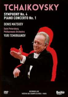 Peter Iljitsch Tschaikowsky (1840-1893): Symphonie Nr.4, DVD
