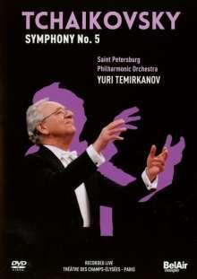 Peter Iljitsch Tschaikowsky (1840-1893): Symphonie Nr.5, DVD