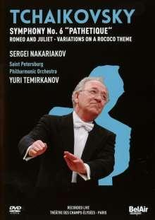 Peter Iljitsch Tschaikowsky (1840-1893): Symphonie Nr.6, DVD