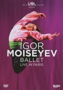 Igor Moiseyev Ballet - Live in Paris, DVD