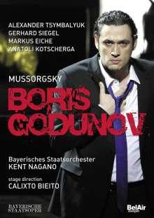 Modest Mussorgsky (1839-1881): Boris Godunow, DVD
