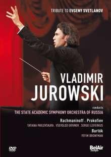 Vladimir Jurowski -Tribute to Evgeny Svetlanov, DVD