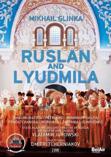 Michael Glinka (1804-1857): Ruslan & Ludmila, 2 DVDs
