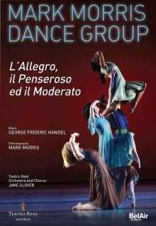 Mark Morris Dance Group - L'Allegro, il Penseroso ed il Moderato, DVD