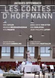 Jacques Offenbach (1819-1880): Les Contes D'Hoffmann, DVD