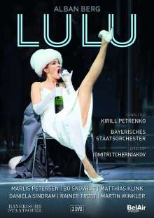 Alban Berg (1885-1935): Lulu, 2 DVDs