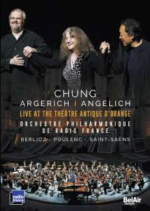 Chung / Argerich / Angelich - Live at the Theatre Antique D'Orange, DVD