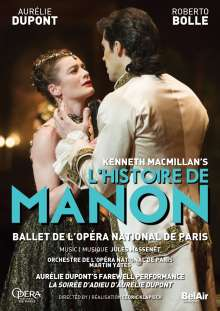 Ballet de l'Opera National de Paris - L'Histoire de Manon, DVD