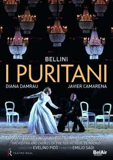 Vincenzo Bellini (1801-1835): I Puritani, 2 DVDs