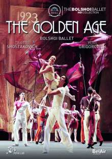 Bolshoi Ballett: The Golden Age, DVD