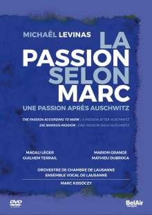Michael Levinas (geb. 1949): La Passion Selon Marc, DVD