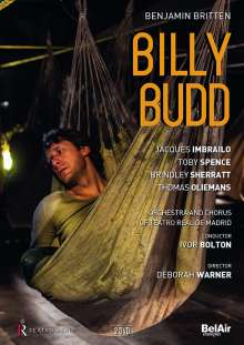 Benjamin Britten (1913-1976): Billy Budd op.50, 2 DVDs