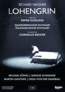 Richard Wagner (1813-1883): Lohengrin, DVD
