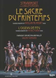 Mariinsky Ballet & Orchestra:Strawinsky & Les Ballets Russes - Le Sacre Du Printemps, DVD