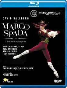 Bolshoi Ballett: Marco Spada, Blu-ray Disc