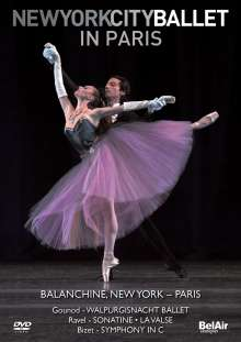 New York City Ballet in Paris, Blu-ray Disc