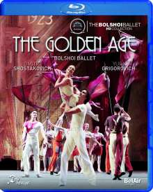 Bolshoi Ballett: The Golden Age, Blu-ray Disc