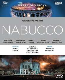 Giuseppe Verdi (1813-1901): Nabucco, Blu-ray Disc