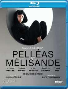 Claude Debussy (1862-1918): Pelleas und Melisande, Blu-ray Disc