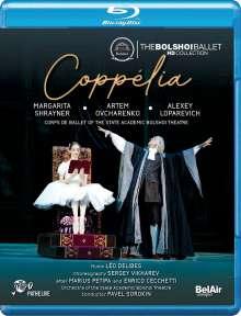 Bolshoi Ballett: Coppelia, Blu-ray Disc