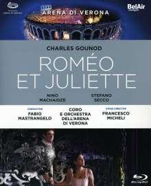 Charles Gounod (1818-1893): Romeo & Juliette, Blu-ray Disc