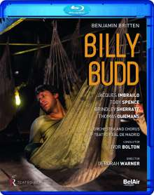 Benjamin Britten (1913-1976): Billy Budd op.50, Blu-ray Disc