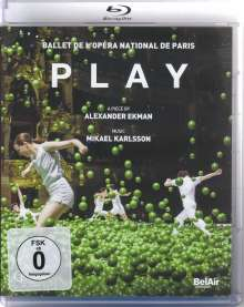 Ballet de l'Opera National de Paris - Play, Blu-ray Disc