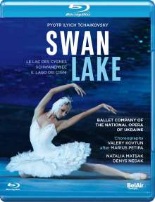 Ballet Company of the National Opera of Ukraine - Schwanensee, Blu-ray Disc