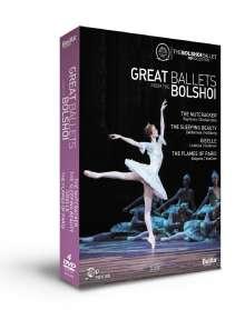 Bolshoi Ballett - Great Ballets From The Bolshoi, 4 DVDs