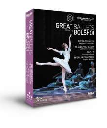 Bolshoi Ballett - Great Ballets From The Bolshoi, 4 Blu-ray Discs