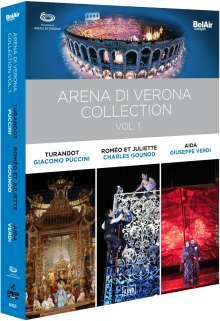 Arena Di Verona Collection Vol.1, 4 DVDs