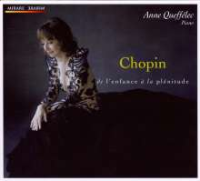"""Frederic Chopin (1810-1849): Klavierwerke """"de l'enfance a la plenitude"""", CD"""