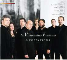 Les Violoncelles Francais - Meditations, CD