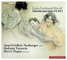 Louis Joseph Ferdinand Herold (1791-1833): Klavierkonzerte Nr.2-4, CD