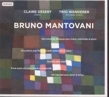 Bruno Mantovani (geb. 1974): Kammermusik für Klavier & Streicher, CD