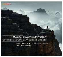 Wilhelm Friedemann Bach (1710-1784): Cembalokonzerte D-Dur, e-moll, a-moll (Falck 41, 43, 45), CD