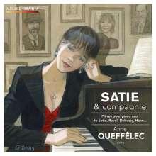 Anne Queffelec - Satie & Compagnie, CD