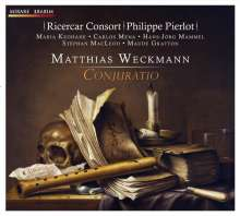 """Matthias Weckmann (1619-1674): Geistliche Konzerte N.1-4 """"Conjuratio"""", CD"""