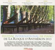 Festival de Piano La Roque d'Antheron 2013, CD