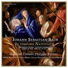 Johann Sebastian Bach (1685-1750): Kantaten BWV 63,110,151, CD