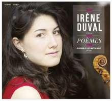 Irene Duval - Poemes, CD