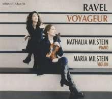 """Maurice Ravel (1875-1937): Werke für Violine & Klavier - """"Voyageur"""", CD"""