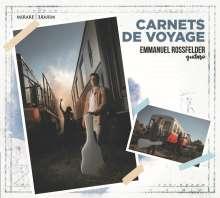 Emmanuel Rossfelder - Carnets de Voyage, CD