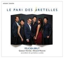 Felicien Brut, Akkordeon, CD