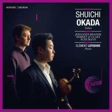 Shuichi Okada - Brahms / Robert & Clara Schumann, CD