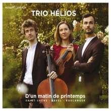 Trio Helios - D'un matin de printemps, CD