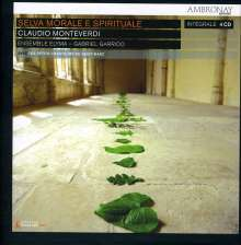 Claudio Monteverdi (1567-1643): Selva morale e spirituale (Gesamt-Aufnahme), 4 CDs